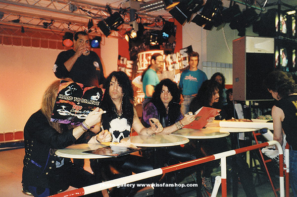 Kiss In Deutschland 1992